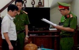 Bắt nguyên Giám đốc, Phó Giám đốc công ty xổ số kiến thiết Hà Giang