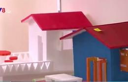 Cắt xốp ghép hình - Sân chơi mới cho trẻ em ngày Hè