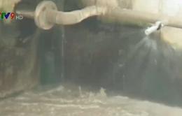 Chỉ có 1/12 nhà máy xử lý nước thải hoạt động tại TP.HCM