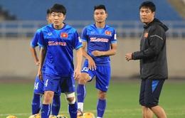 HLV Hữu Thắng sử dụng đội hình nào để đấu ĐT Indonesia?