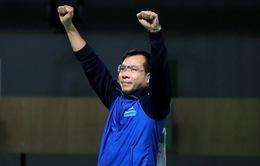 Nghẹt thở, xạ thủ Hoàng Xuân Vinh vào chung kết 50m súng ngắn bắn chậm nam