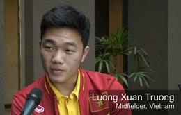 VIDEO Xuân Trường trả lời phỏng vấn bằng tiếng Anh