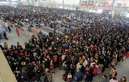 Người Trung Quốc về quê ăn Tết - Chiến dịch giao thông kỷ lục thế giới