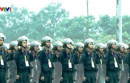 Các lực lượng xuất quân bảo vệ Đại hội Đảng lần thứ XII
