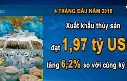 Xuất khẩu thủy sản của Việt Nam 4 tháng đầu năm đạt gần 2 tỷ USD