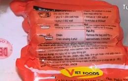 Hủy bỏ xử phạt xúc xích Viet Foods