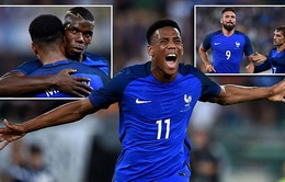VIDEO, Italia 1-3 Pháp: Màn ra mắt không trọn vẹn của Ventura!