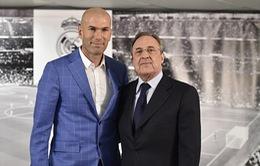 Zidane là HLV thứ 11 của Real sau 12 mùa bóng