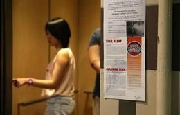 Singapore phát hiện thêm 40 trường hợp nhiễm Zika