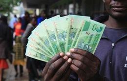 Zimbabwe phát hành tiền trái phiếu giảm tình trạng thiếu tiền mặt