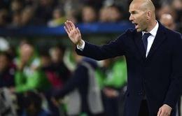 Zidane mạnh miệng tuyên bố Real Madrid sẽ ngược dòng không tưởng