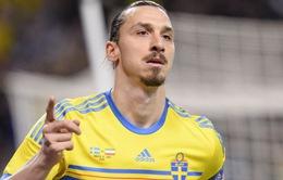 Nhận lời chúc từ Ibrahimovic, ĐT Thụy Điển tự tin