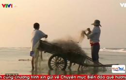 Cuộc sống khó khăn của cặp vợ chồng nghèo vùng bãi ngang ven biển