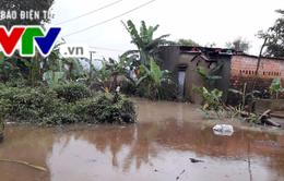 Nam Trung Bộ: Mưa giảm nhưng tiêu thoát lũ chậm