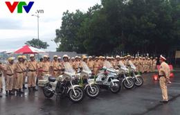 Bộ Công an tổ chức tập huấn kỹ năng lái xe phân khối lớn phục vụ APEC