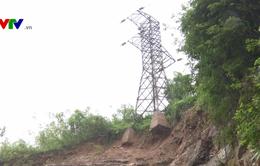 Quảng Trị: Khó khắc phục sạt lở lưới điện 35KV sau bão số 10