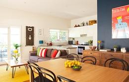 Căn nhà rực rỡ với những sắc màu trẻ thơ