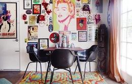 """Căn nhà ngập tràn sắc màu của người đàn ông """"nghiện"""" đồ vintage"""