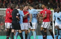 Diễn biến chi tiết vụ ẩu đả giữa Manchester United  và Manchester City