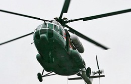 Rơi trực thăng cứu hộ tại miền Trung Italy