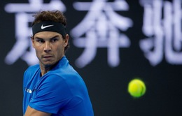 Nadal thắng nhọc nhằn ngay tại vòng 1 giải quần vợt Trung Quốc mở rộng 2017