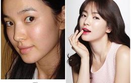 Ngắm mặt mộc thực sự của các kiều nữ xứ Hàn