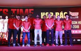 Saigon Heat họp báo giới thiệu đội bóng tại ABL 2017-2018
