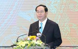 Chủ tịch nước dự lễ kỷ niệm 20 năm ngày tái lập tỉnh Hà Nam
