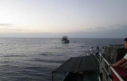 Vùng 3 Hải quân cứu nạn tàu cá Quảng Ngãi