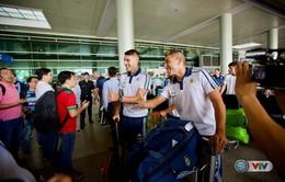 VIDEO: U20 Argentina đã đến Việt Nam, chuẩn bị cho trận giao hữu với U20 và U22 Việt Nam