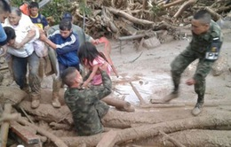 Colombia nỗ lực cứu trợ nạn nhân vụ sạt lở đất