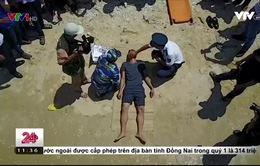 Tập huấn cứu hộ cho ngư dân Bình Thuận