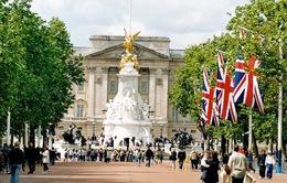 Du khách nước ngoài đến Anh tăng kỷ lục