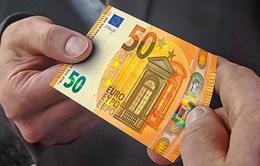 Đức: ECB họp báo về việc phát hành đồng tiền giấy 50 Euro mới