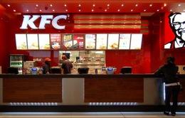 KFC sử dụng gà không thuốc kháng sinh vào năm 2018