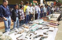 Colombia: FARC hoàn thành giao nộp 60% vũ khí đúng thời hạn