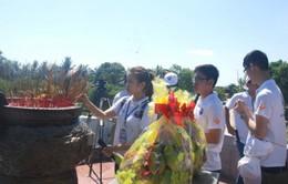 Quảng Trị tổ chức lễ cầu siêu nhân ngày Thương binh liệt sỹ