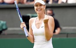 Maria Sharapova hẹn ngày trở lại với Stuttgart mở rộng 2017