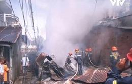 """""""Bà hỏa"""" thiêu rụi 2 căn nhà tại Kiên Giang dịp đầu năm mới"""