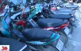 Tiền Giang bắt 2 đối tượng thực hiện 11 vụ trộm xe mô tô