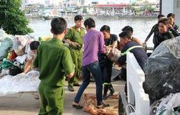 TP.HCM: Tìm được thi thể cô gái tự tử trên sông Kênh Tẻ