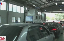 Hơn 1.200 xe vi phạm luật giao thông bị từ chối đăng kiểm