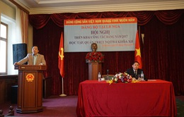 Đảng bộ Việt Nam tại Nga triển khai công tác Đảng năm 2017