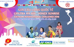 Lịch tường thuật trực tiếp giải cầu lông quốc tế Ciputra 2017 trên sóng VTV