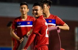 VIDEO: ĐT U20 Việt Nam tập buổi đầu tiên tại TP Hồ Chí Minh