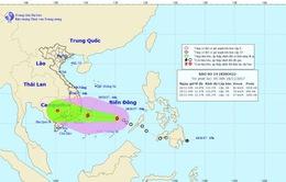 Áp thấp nhiệt đới đã mạnh lên thành bão số 14