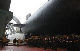 """Nga hé lộ tàu ngầm """"khủng"""" nhất thế giới"""