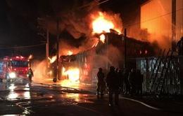 Cháy nhà máy ở Đài Loan, 6 công nhân Việt tử nạn