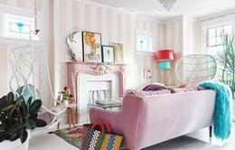 Ngắm ngôi nhà rực rỡ những sắc màu mộng mơ