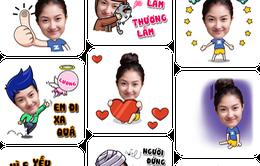 """Laban Key tung ứng dụng tạo sticker ảnh cá nhân để """"chat chit"""""""